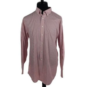 Tommy Hilfiger Striped Long Sleeve Button Up Shirt